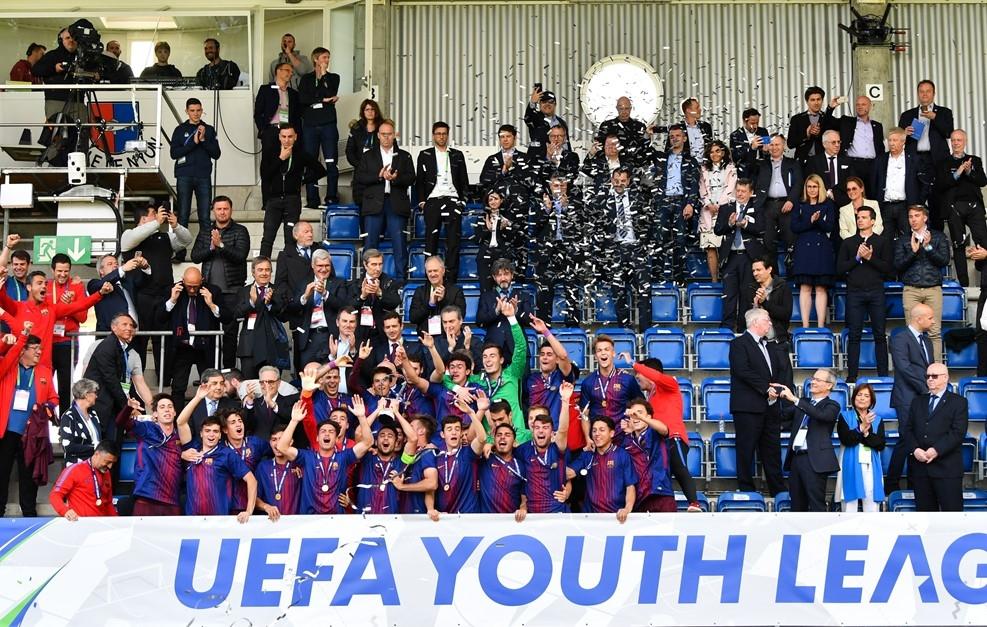 Отборът на Барселона спечели младежката Шампионска лига. На финала в