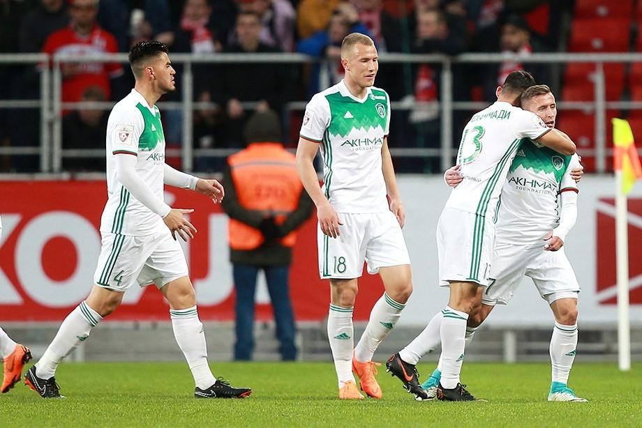 Отборът на Спартак Москва допусна изненадваща загуба с 1:3 от