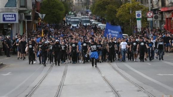 Официалният сайт на Левски публикува обръщение до феновете на тима