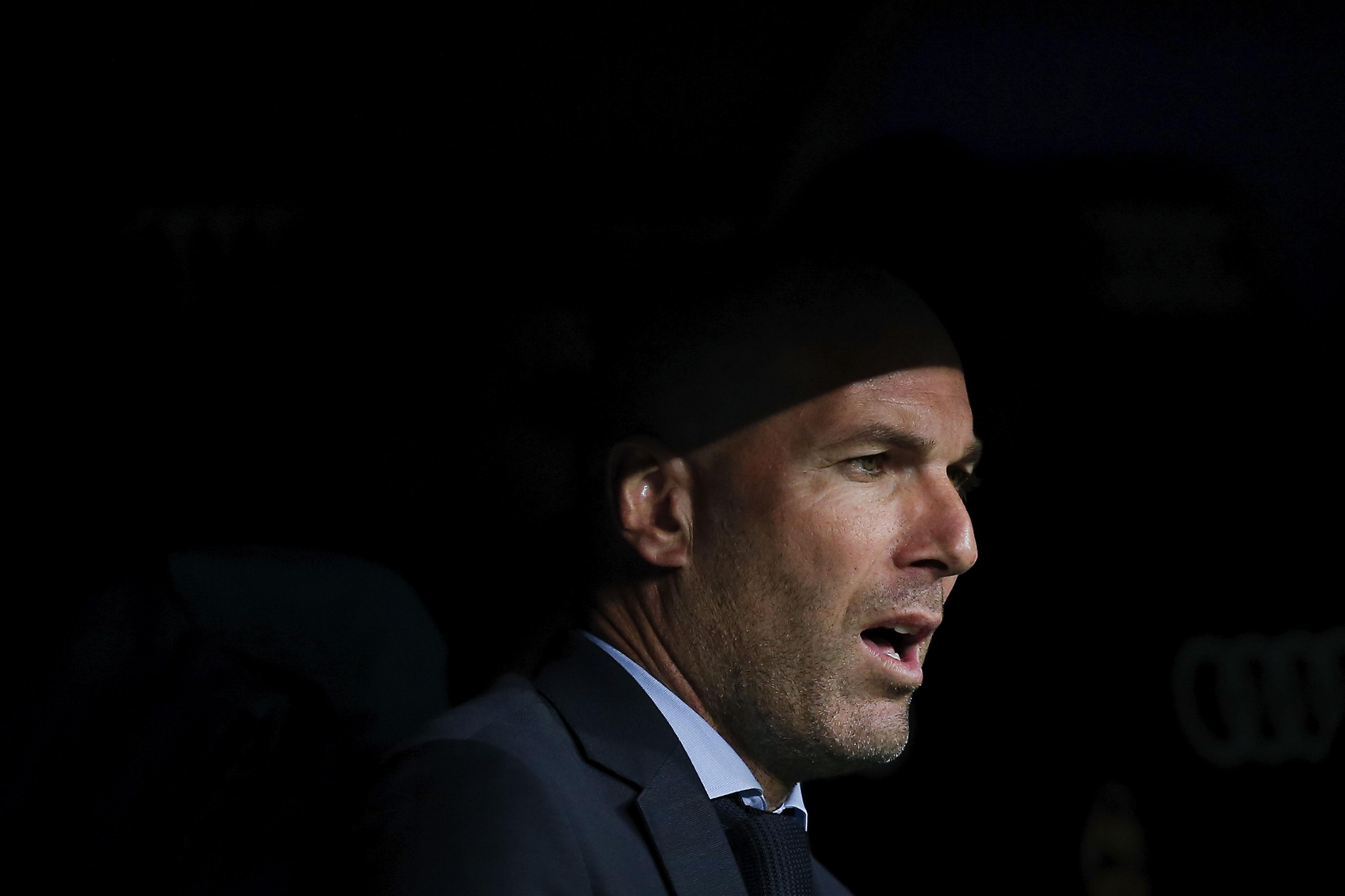 Старши треньорът на Реал Мадрид Зинедин Зидан е наясно, че