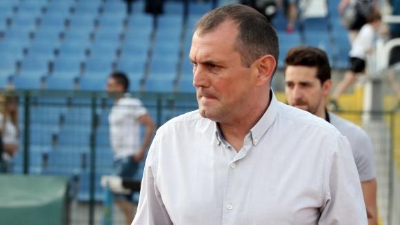 Наставникът на Славия Златомир Загорчич остана доволен от постигнатия успех