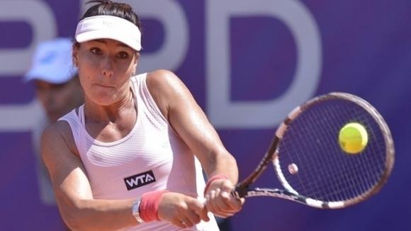 Българката Елица Костова отпадна в първия кръг на двойки на