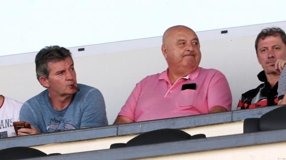 Президентът на Славия Венцеслав Стефанов бе много щастлив след класирането