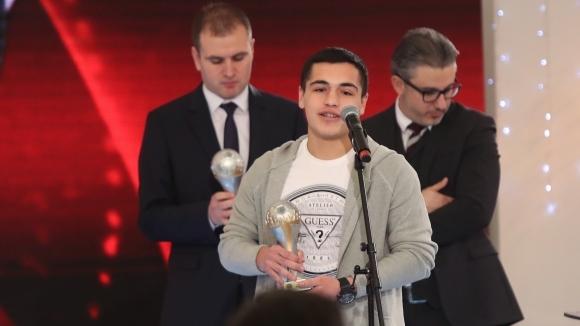 Българският юношески национал Ияд Хамуд се отличи с два гола