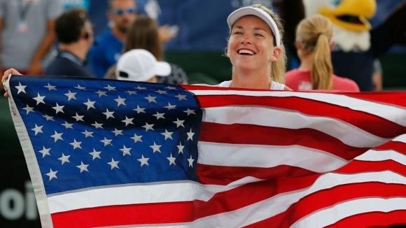 Шампионката от Откритото първенство на САЩ по тенис Слоун Стивънс