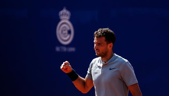 Най-добрият ни тенисист Григор Димитров се изправя срещу Малек Джазири