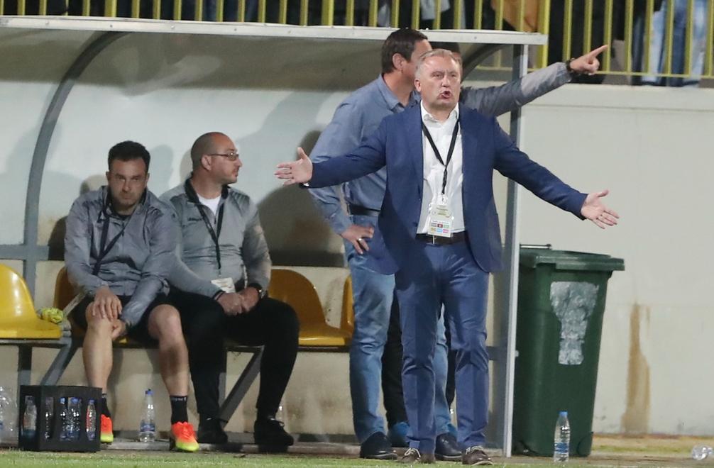 Николай Киров няма да води Ботев (Пловдив) в предстоящия мач