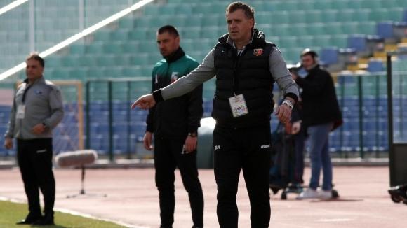 Представителният отбор на Локомотив (Пловдив) започна подготовка за предстоящия мач