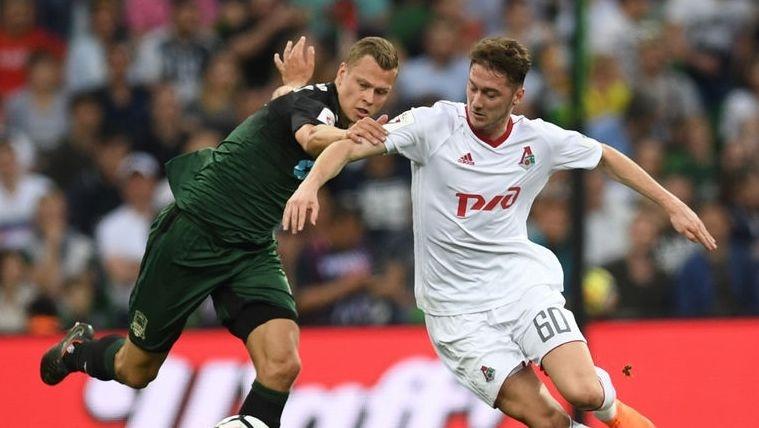 Лидерът в руската Премиер лига Локомотив (Москва) не се възползва
