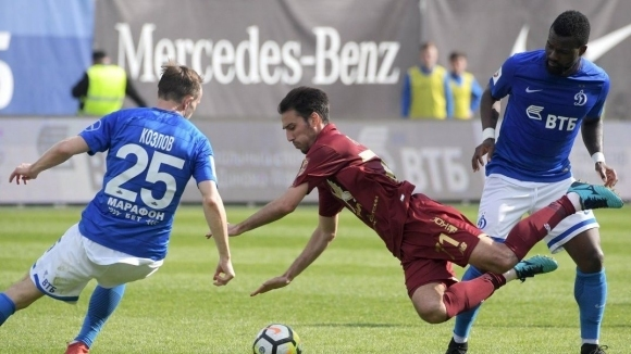 Българският нападател Ивелин Попов игра цял мач за Рубин при