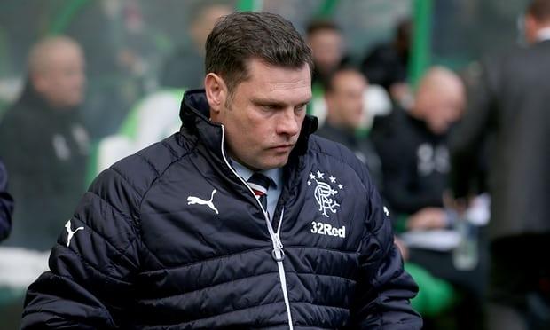 Мениджърът на шотландския футболен гранд Рейнджърс - Греъм Мърти, подаде