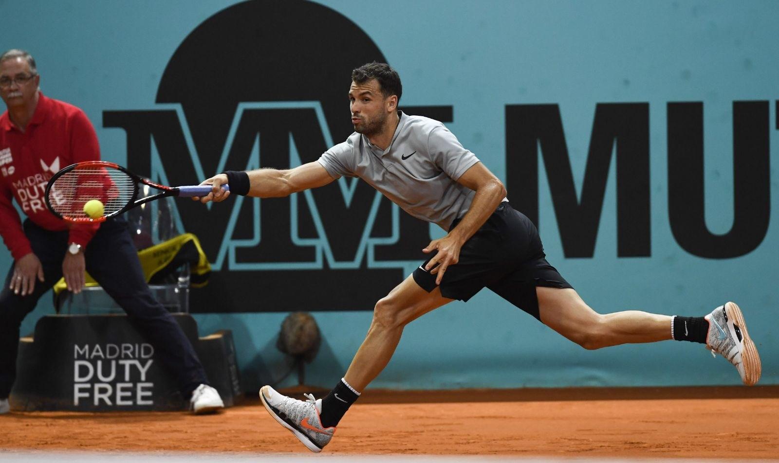Най-добрият ни тенисист Григор Димитров загуби от канадеца Милош Раонич