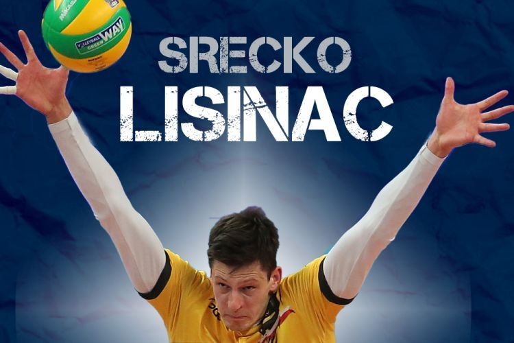 Сръбският национал Сречко Лисинац замени Полша с Италия. 25-годишният център