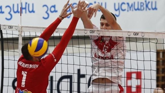 Българският диагоналЖани Желязков продължавакариерата си в чужбина. Волейболистът се завръща