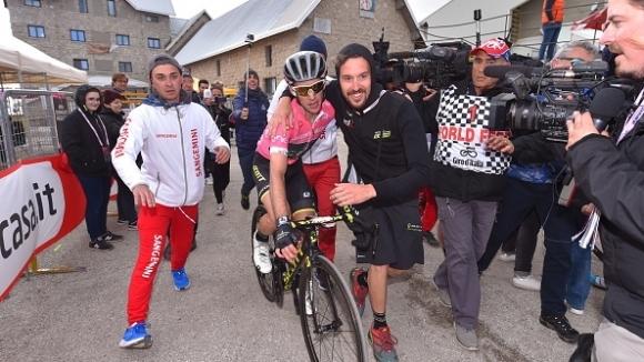 Британецът Саймън Йейтс спечели деветия етап от колоездачната обиколка на