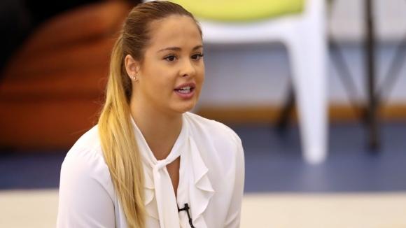 Бронзовата медалистка от олимпийските игри в Рио 2016 с българския