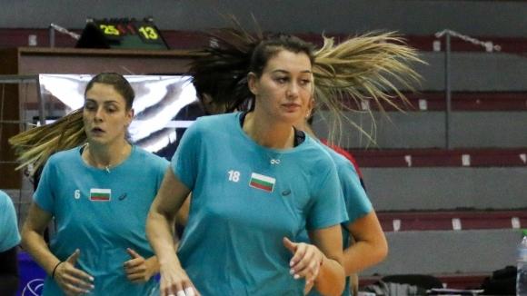Силвана Чаушева е една от младите състезателки в женския национален