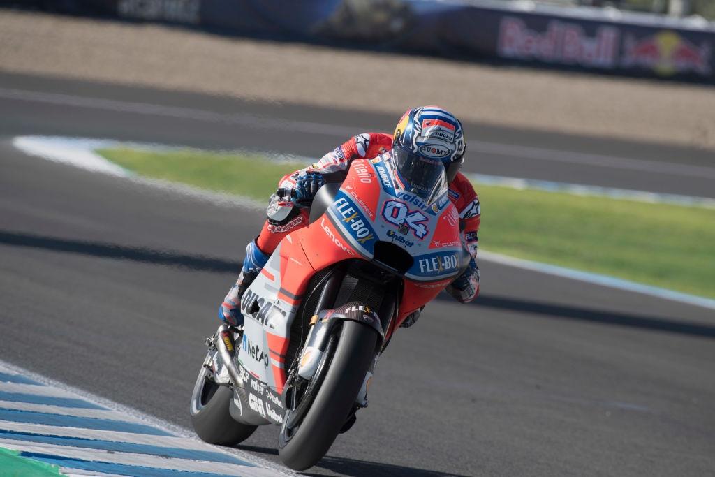 Пилотът на Ducati Андреа Довициозо записа най-бързата обиколка във втората