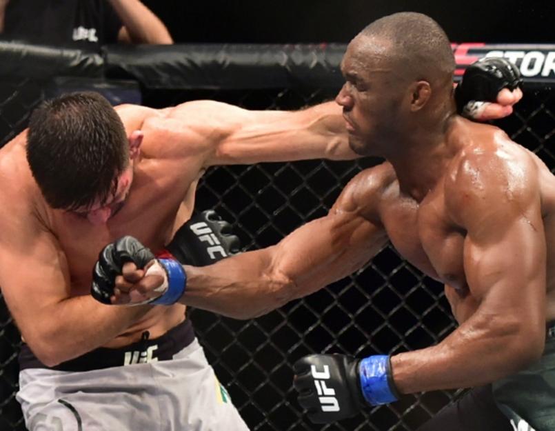 Камару Усман победи Демиън Мая на UFC Fight Night 129,