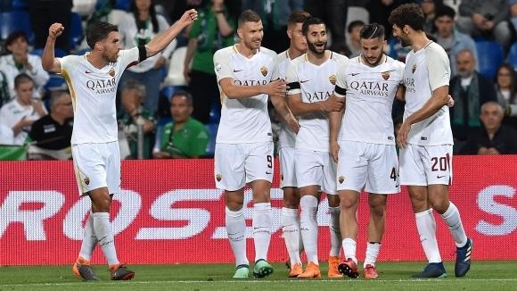 Отборът на Рома спечели гостуването си на Сасусоло с 1:0