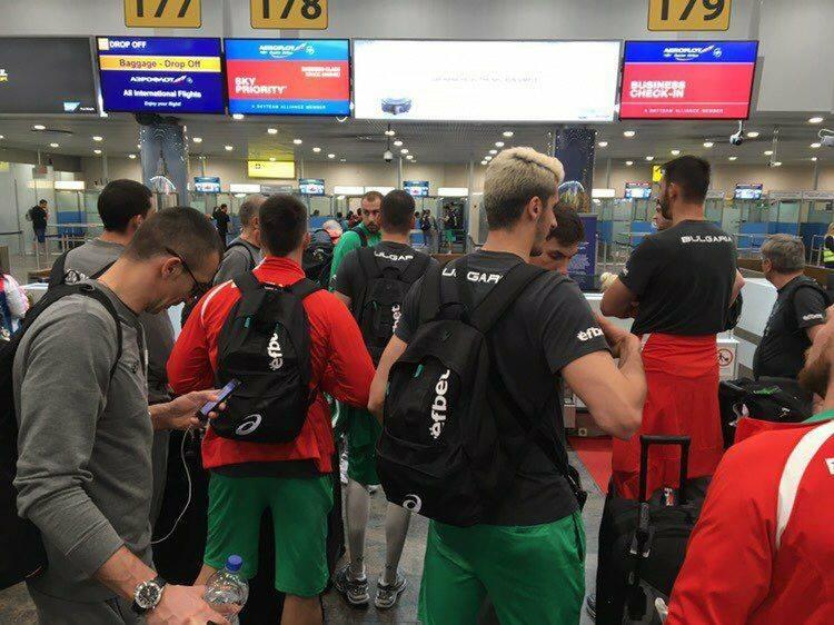 Мъжкият национален отбор по волейбол на България, който беше в