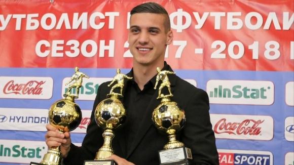 Кирил Десподов безспорно е един от лидерите на ЦСКА-София през