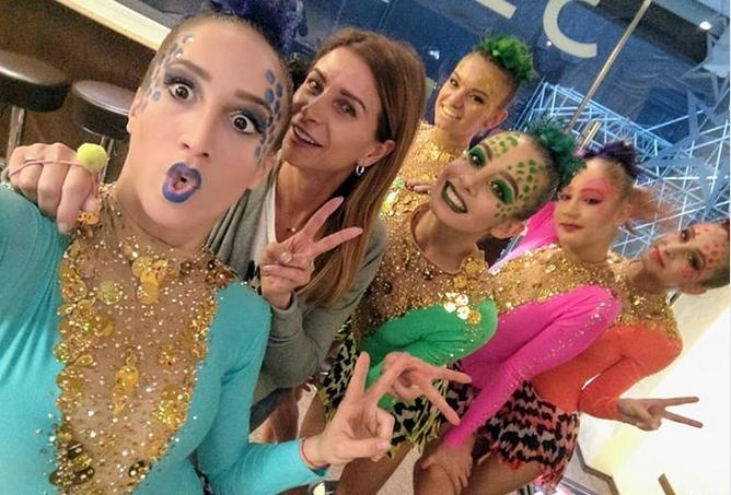 """Българският ансамбъл по художествена гимнастика впечатли публиката на фестивала """"Алина"""""""