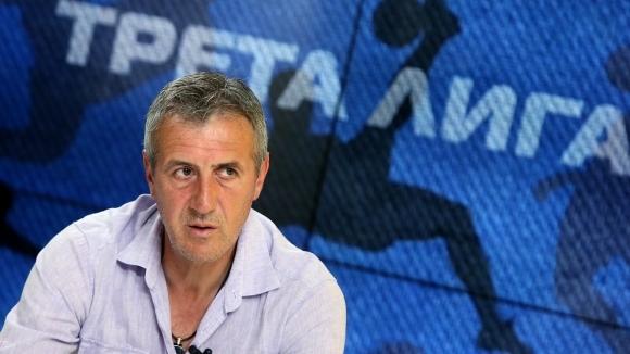 Легендата на българския футбол и настоящ старши треньор на Миньор