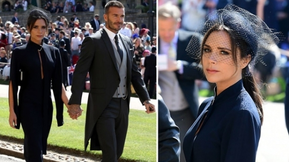 Дизайнерката Виктория Бекъм беше сред специалните гости на кралската сватба