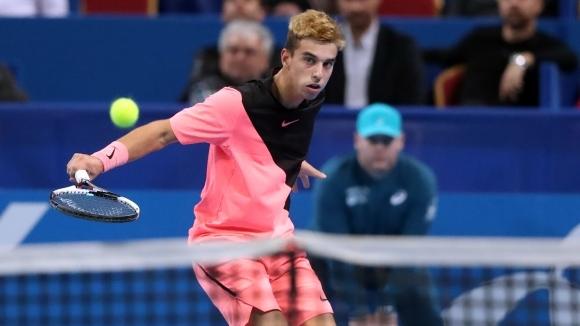 Адриан Андреев записа втора победа на турнира за юноши и