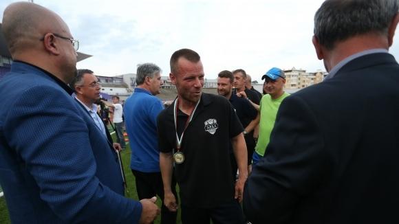 Старши треньорът на Арда (Кърджали) Елин Топузаков сподели първите си