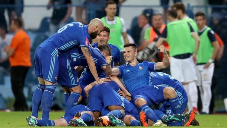 Отборът на Динамо Загреб победи Хайдук Сплит с 1:0 и