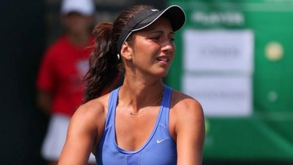 Александрина Найденова на полуфинал на двойки в Китай