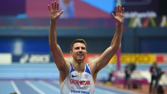 Световният шампион на 60 метра с препятствия от Бирмингам 2018