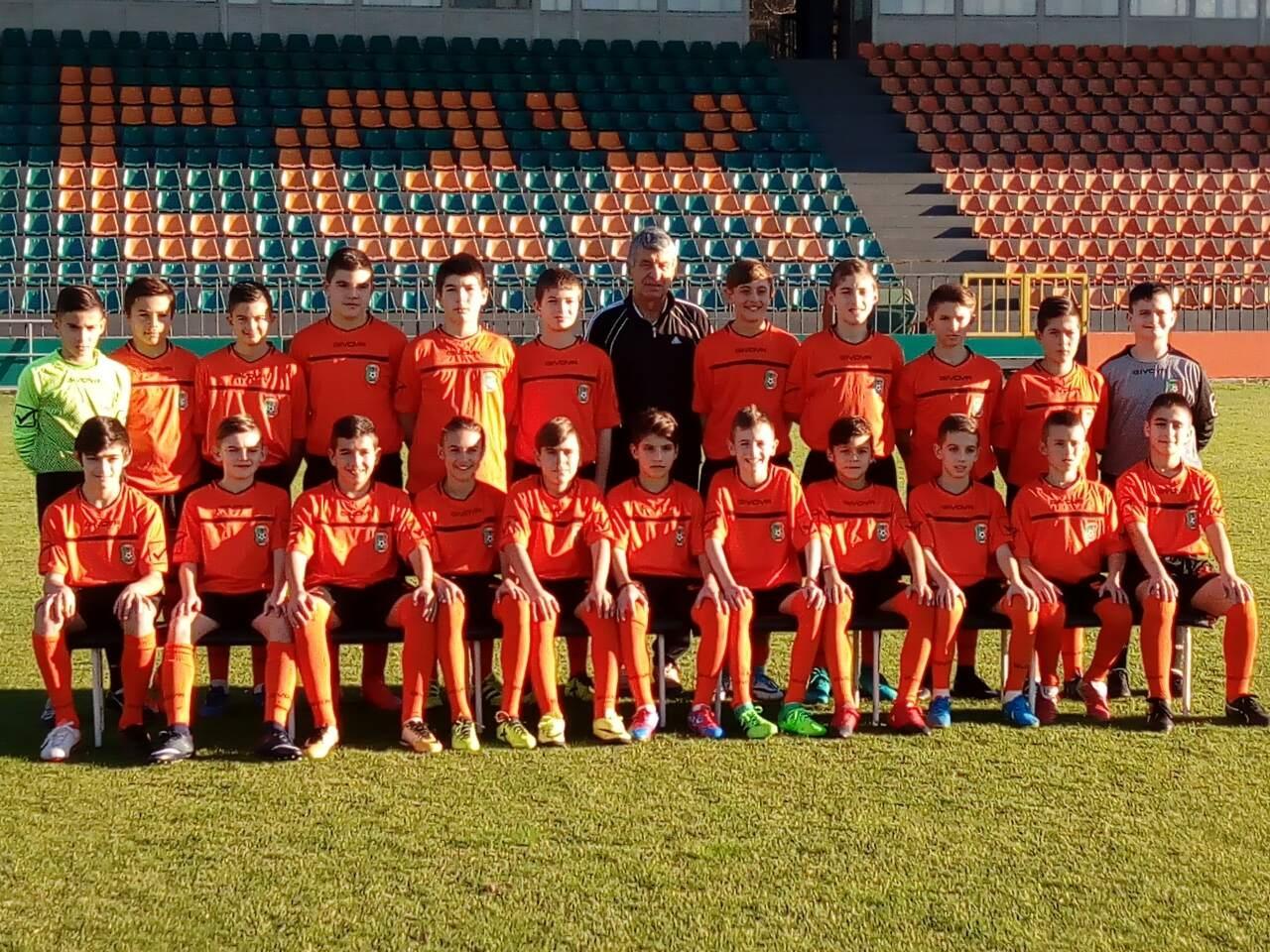 """Областен шампион на зона """"Велико Търново"""" в Подготвителна група (U-11"""