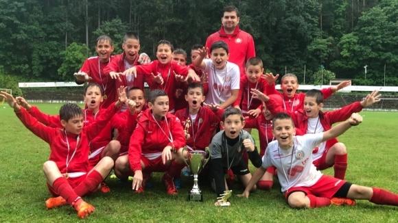 Юношите на ЦСКА-София, родени през 2007 година, спечелиха турнира
