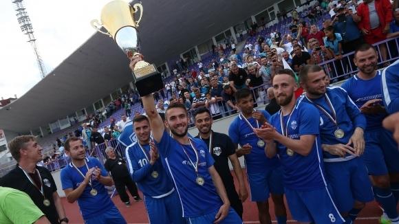 Новакът във Втора футболна лига Арда (Кърджали) измести със седмица
