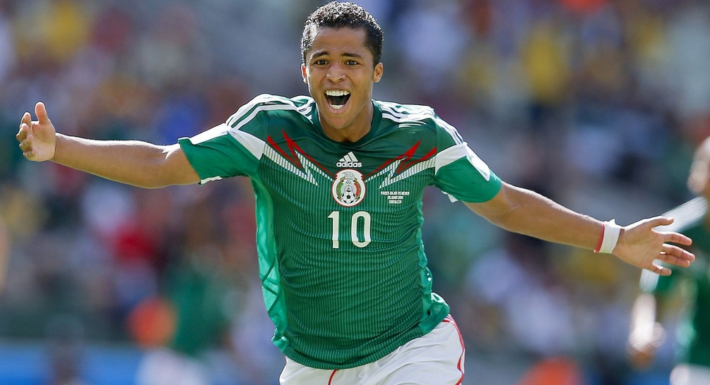 Една от звездите на Мексико - Джовани дос Сантос има