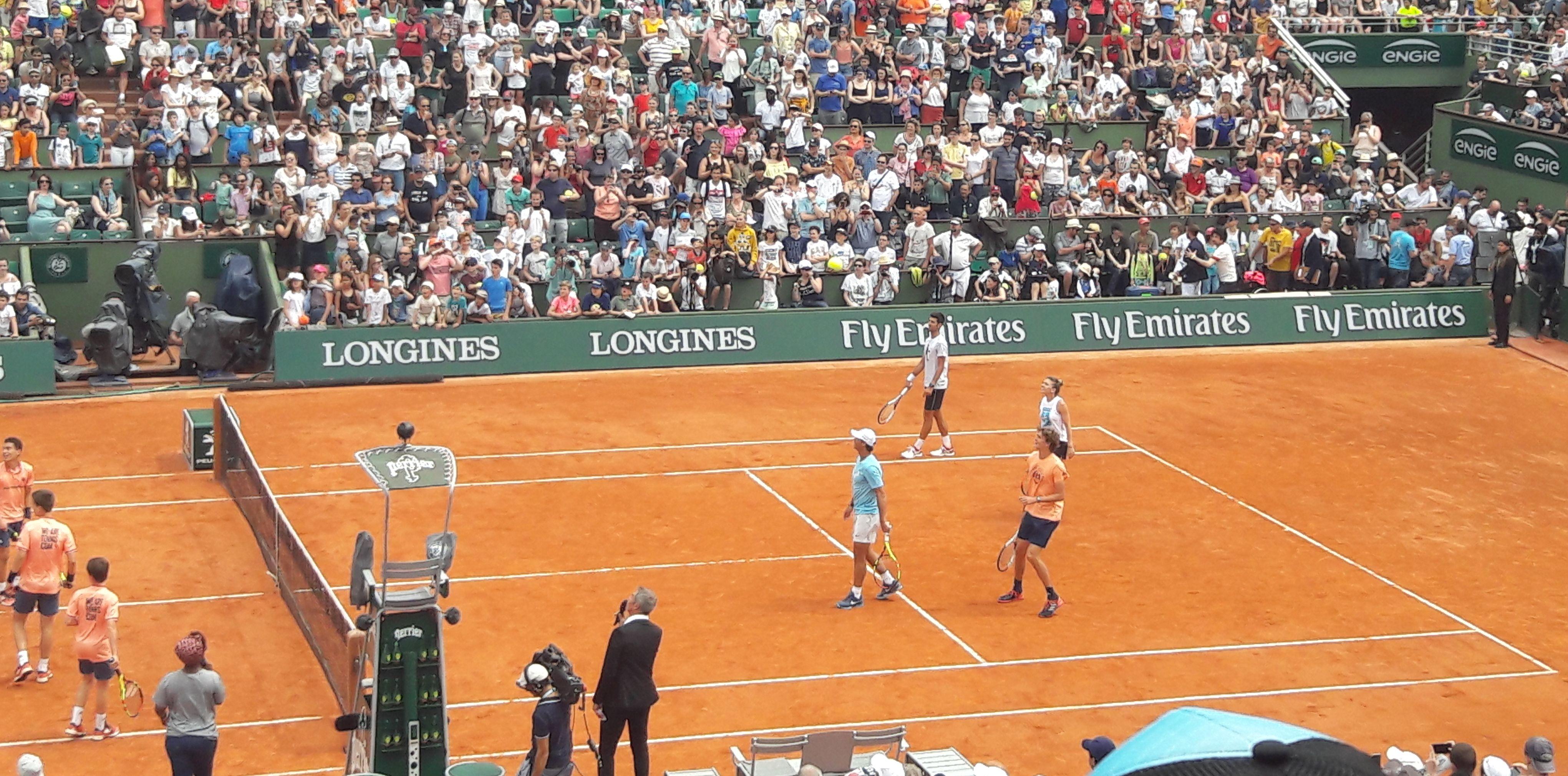 Рафаел Надал и Новак Джокович зарадваха феновете на тениса ден