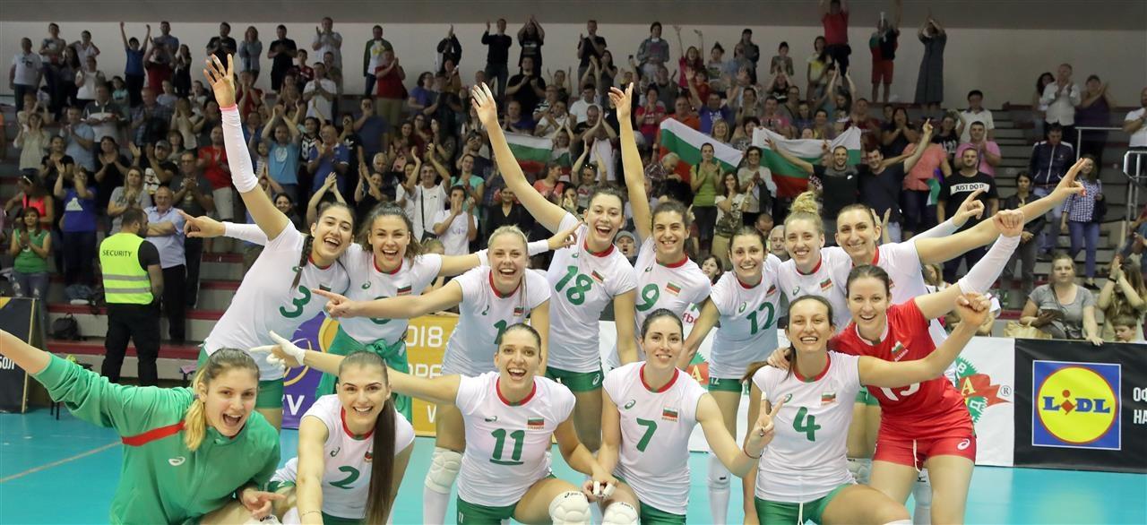Волейболистките от националния отбор на България записаха трета поредна победа