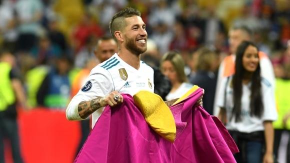Капитанът на Реал Мадрид Серхио Рамос смята, че Кристиано Роналдо