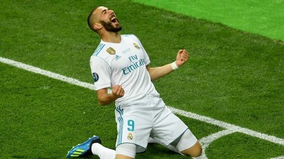 Френският нападател на Реал Мадрид Карим Бензема няма причини да