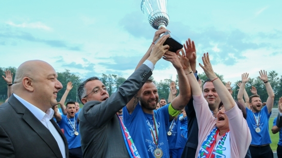 Ръководството на шампиона в Югоизточната Трета лига Арда (Кърджали) е