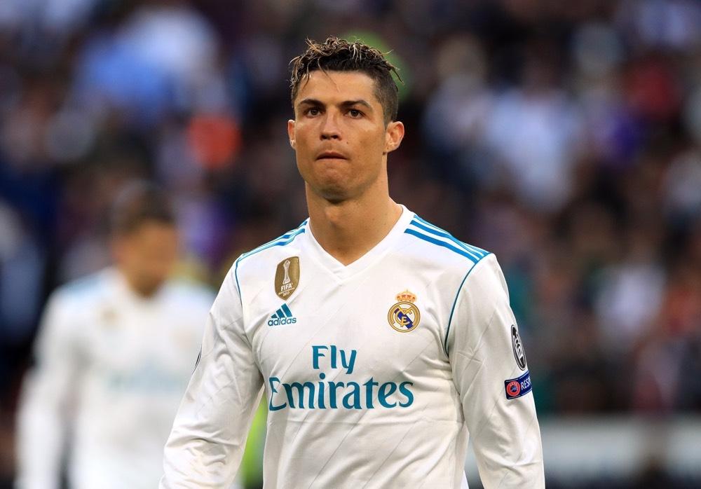 От известно време Кристиано Роналдо сдържа гнева си от гледката