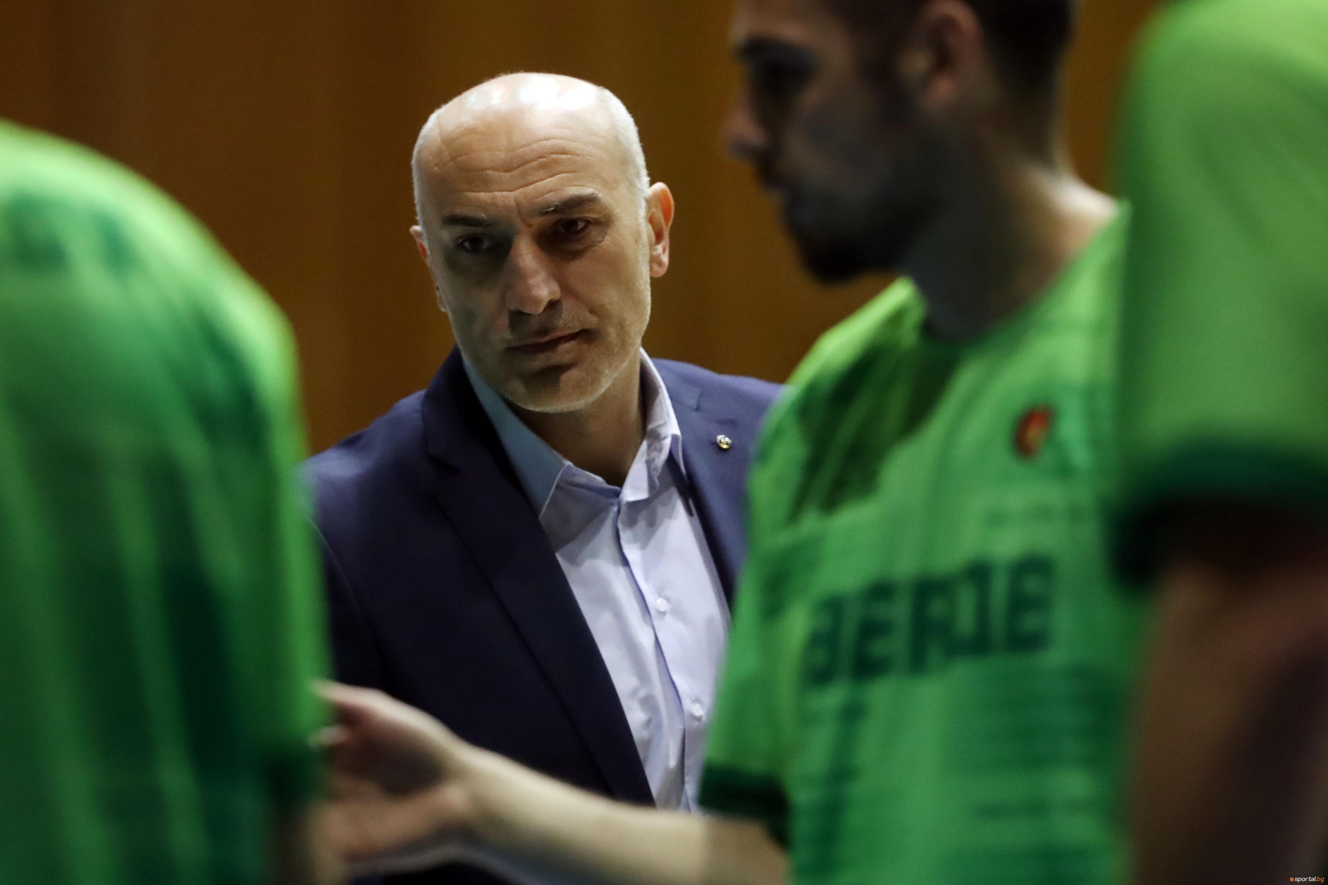 Селекционерът на мъжкия национален отбор по баскетбол на България Любомир