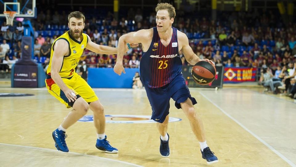 Баскетболният отбор на Барселона стартира плейофите в АСВ Лигата с