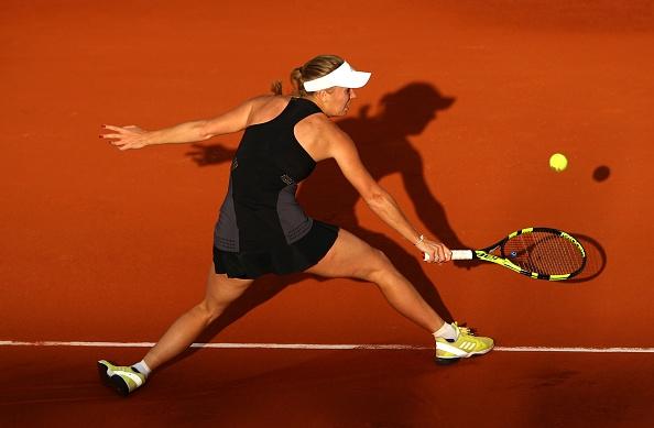 Шампионката от Откритото първенство на Австралия Каролине Вожняцки се класира