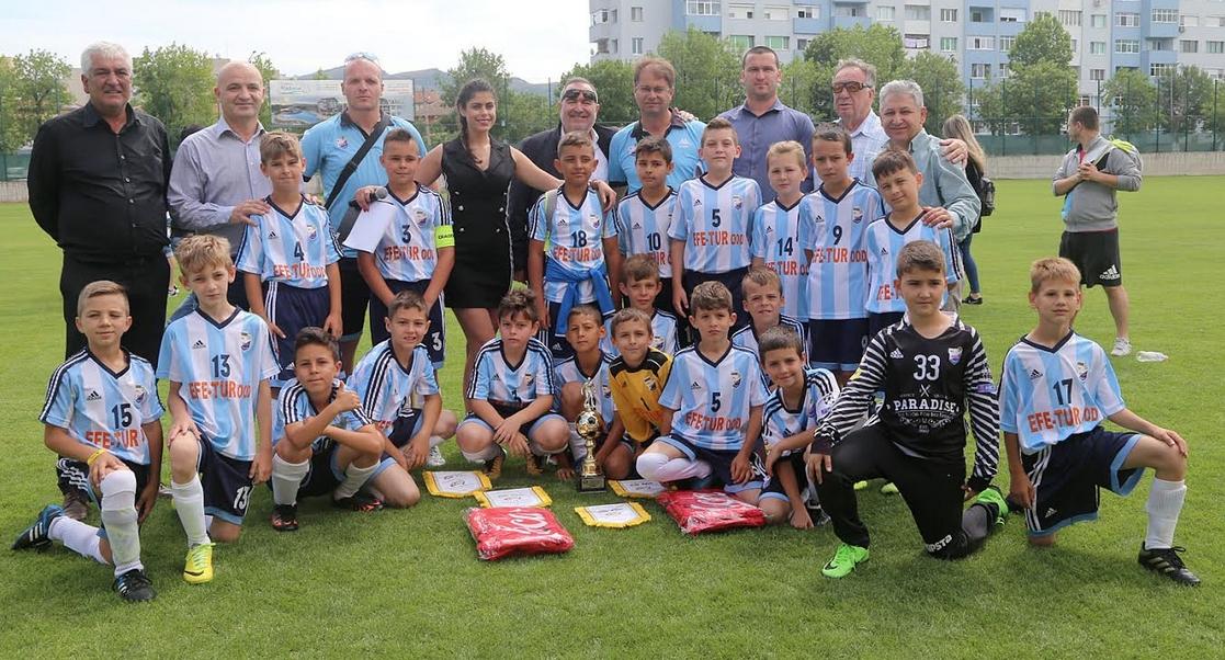"""Отборът на """"Арда 1924"""" спечели традиционния детски футболен турнир за"""