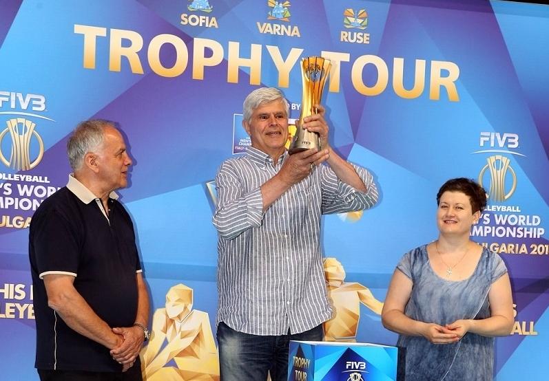Един от най-успешните състезатели в историята на българския волейбол -