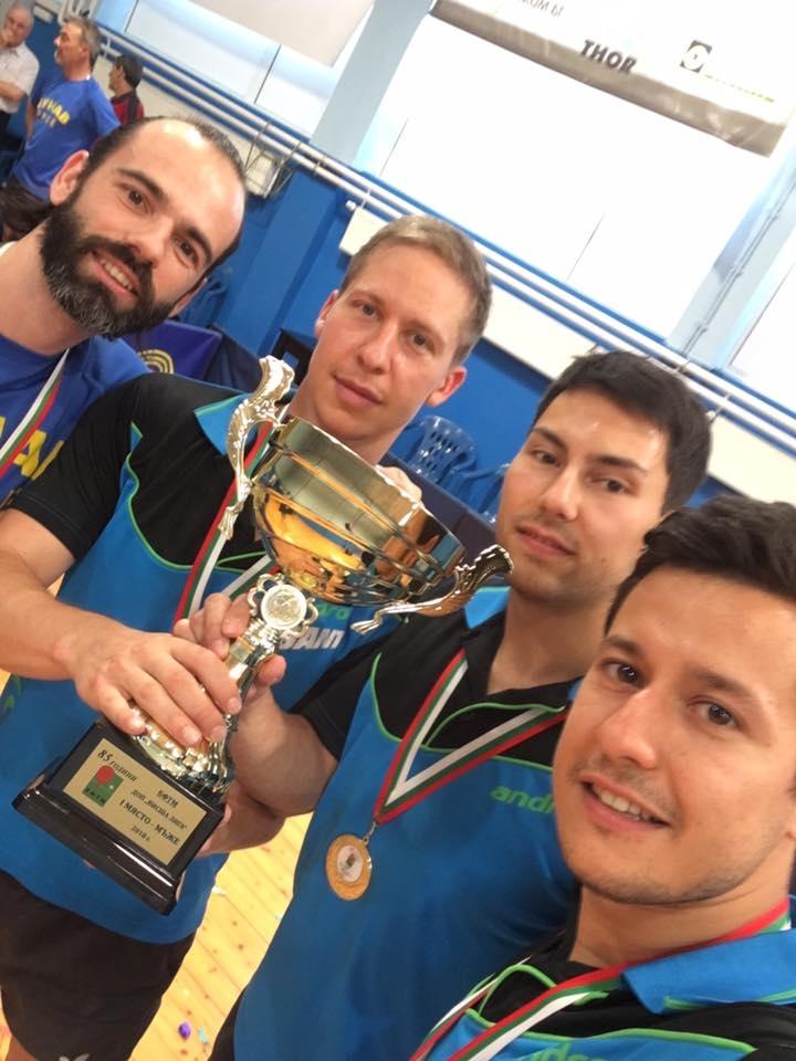 Кметът на Русе Пламен Стоилов връчи парична премия на спортен